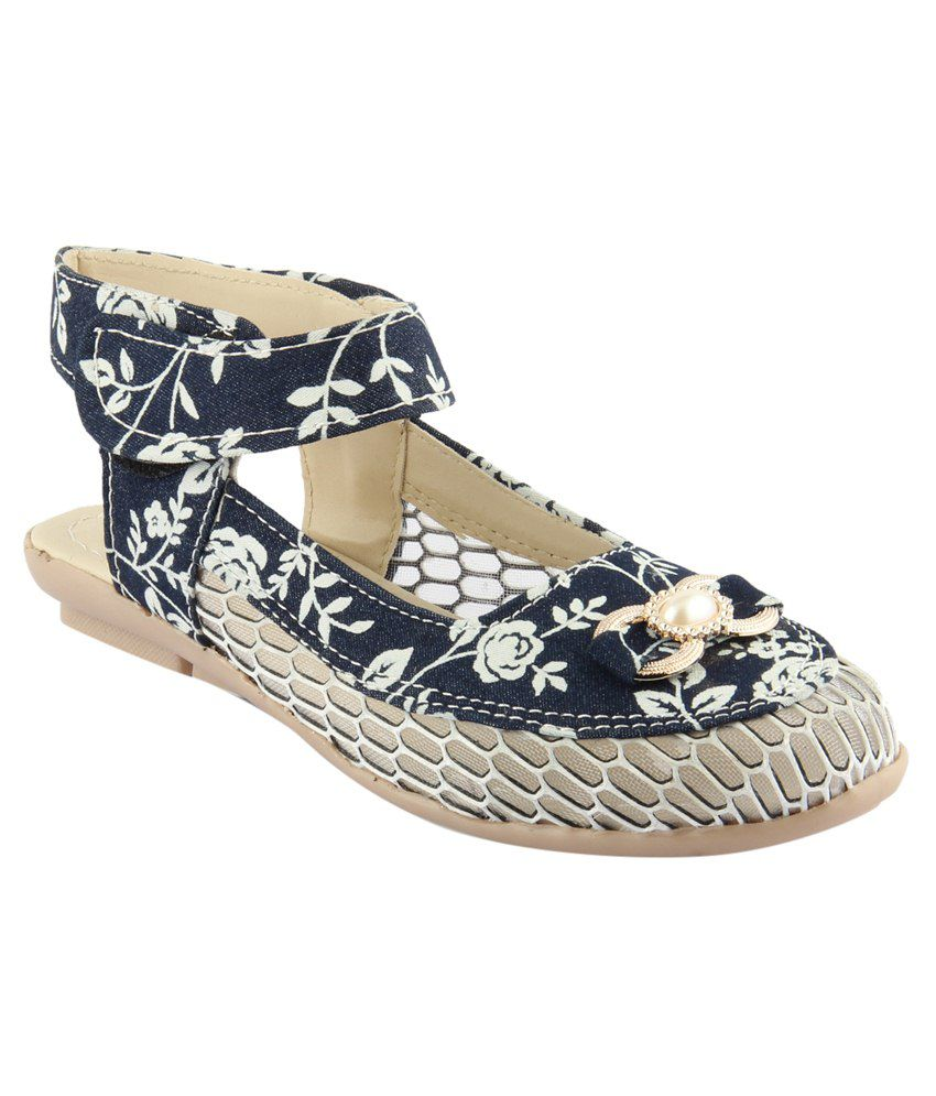19680570a Cute Fashion Blue Flat Slip-on   Sandal Price in India- Buy Cute Fashion  Blue Flat Slip-on   Sandal Online at Snapdeal