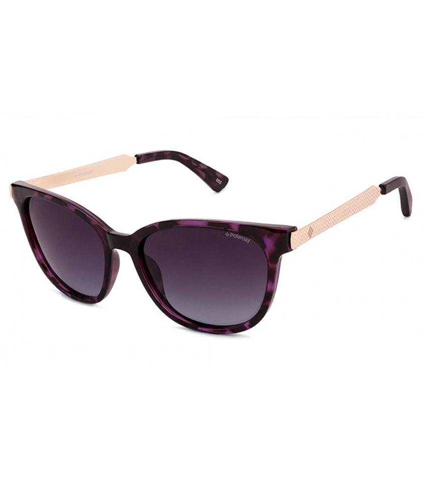 Polaroid Purple Cat Eye Sunglasses