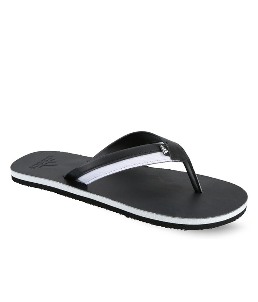 Adidas Black Flip Flops Art ADIS50387