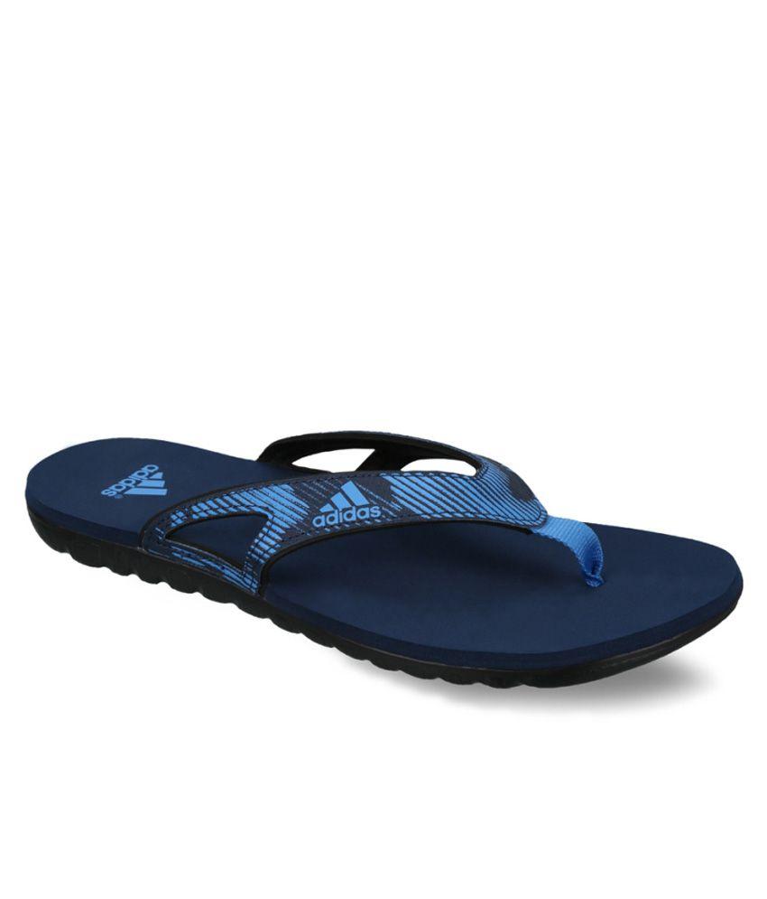 adidas blue flip flops art adib33757 buy adidas blue. Black Bedroom Furniture Sets. Home Design Ideas