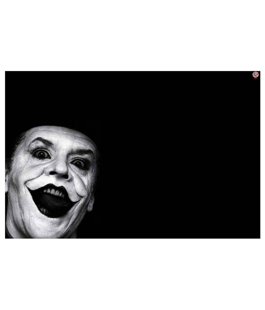 Zap Joker Art Paper Poster