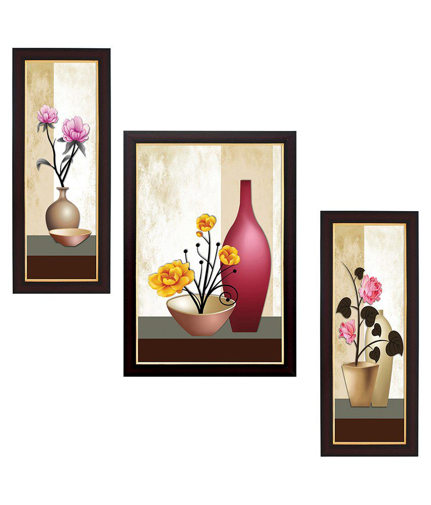 Delight Wood Painting With Frame