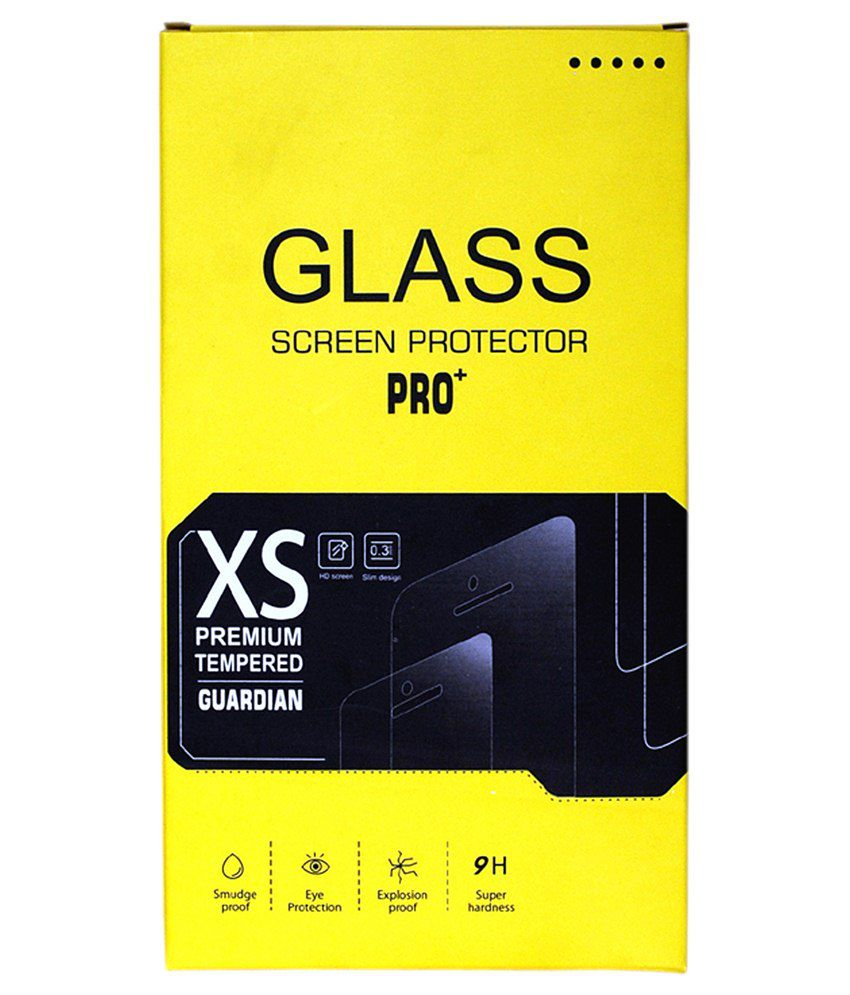 Lava Atom 3 Tempered Glass Screen Guard by Pro Plus