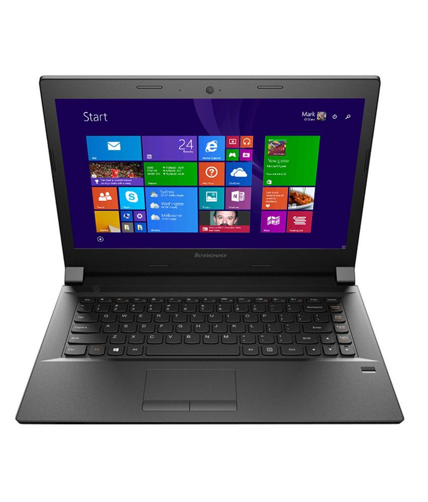 Lenovo B40-80 Notebook (80LS0013IH) (4th Gen Intel Core i3- 4GB RAM- 500GB HDD- 35.56 cm(14)-Windows 8.1) (Black)
