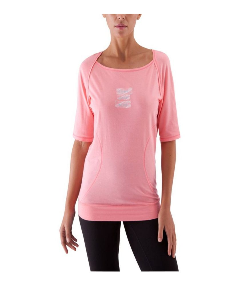 DOMYOS 3/4 Yoga Women's yoga Long-Sleeved T-Shirt By Decathlon