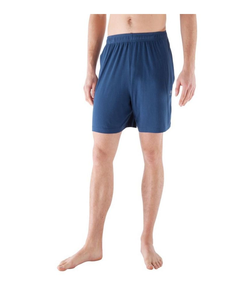 DOMYOS Basic Men's Fitness Essential Shorts By Decathlon