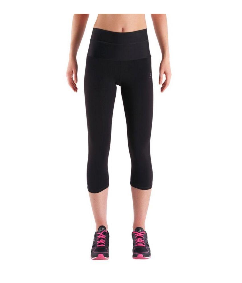 DOMYOS Bt1 Capri Shape Women's Strength Training Cropped Leggings By Decathlon