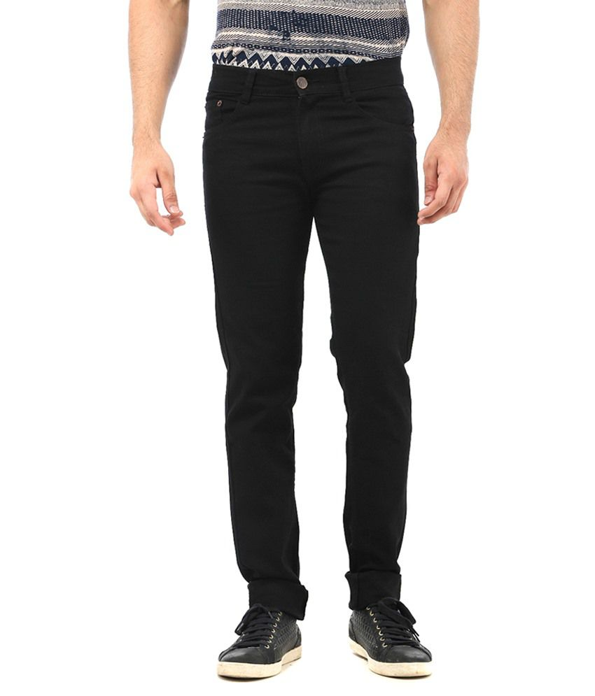 Ave Black Regular Fit Jeans