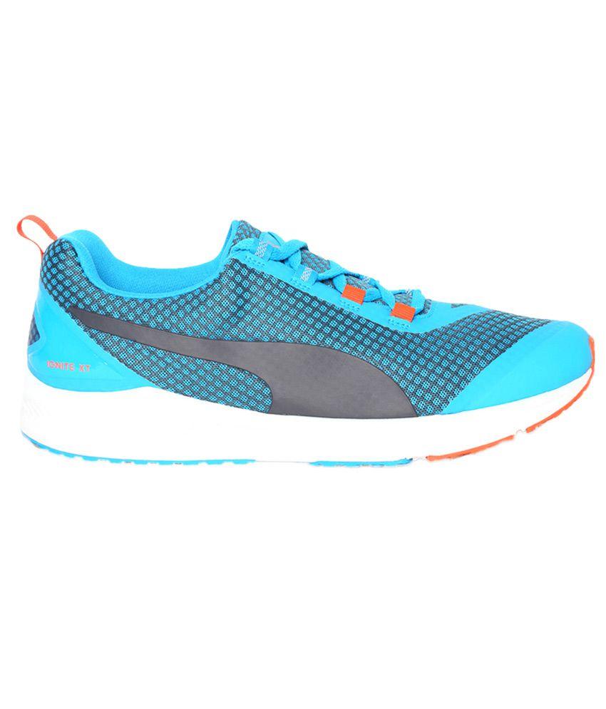 130bf45595a Puma Ignite Xt Core Blue Running Sports Shoes - Buy Puma Ignite Xt ...