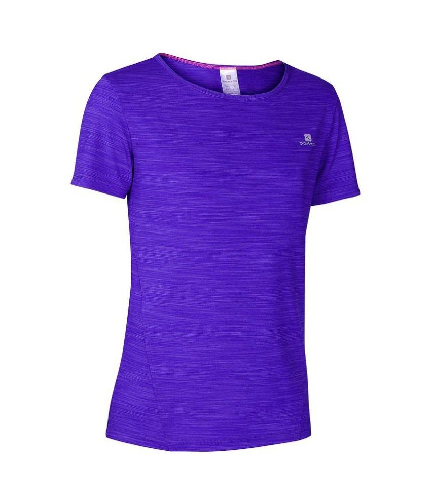 DOMYOS Energy Girls Cardio T-Shirt By Decathlon