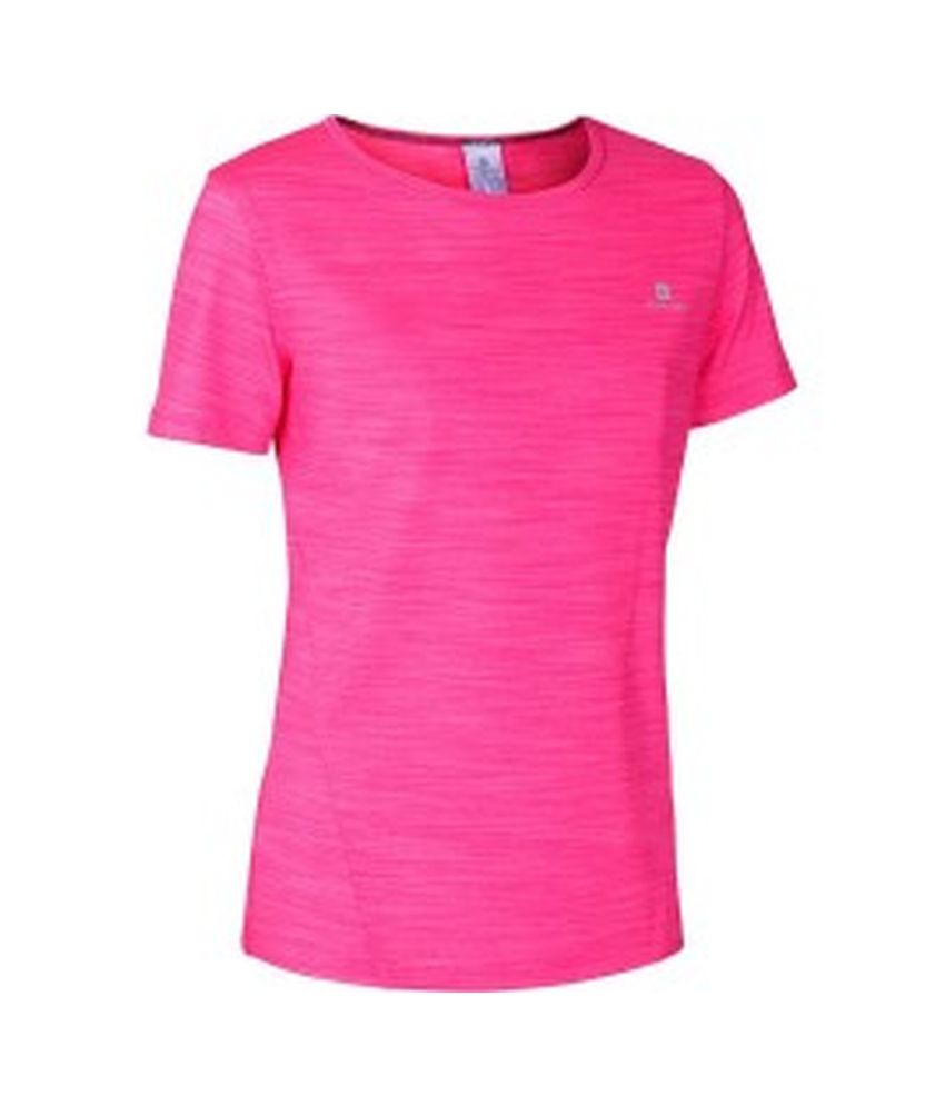 DOMYOS Enery Light Girls Cardio T-Shirt By Decathlon