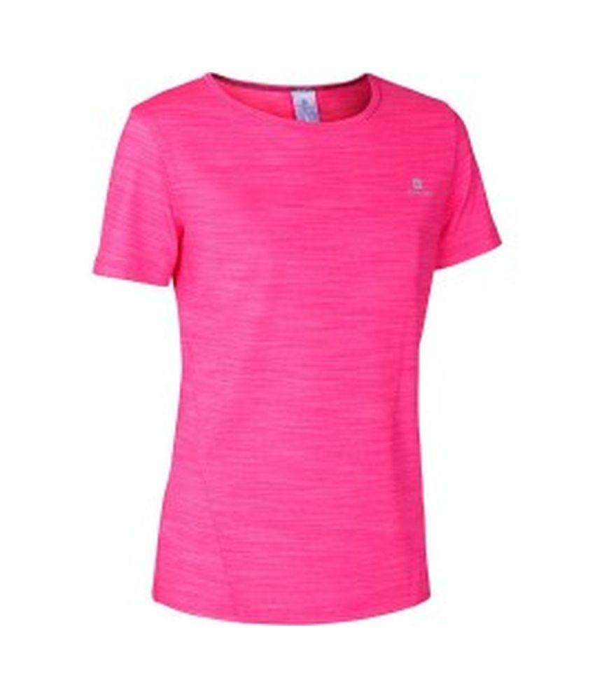 DOMYOS Enery Light Girls Cardio T-Shirt By Decathlon
