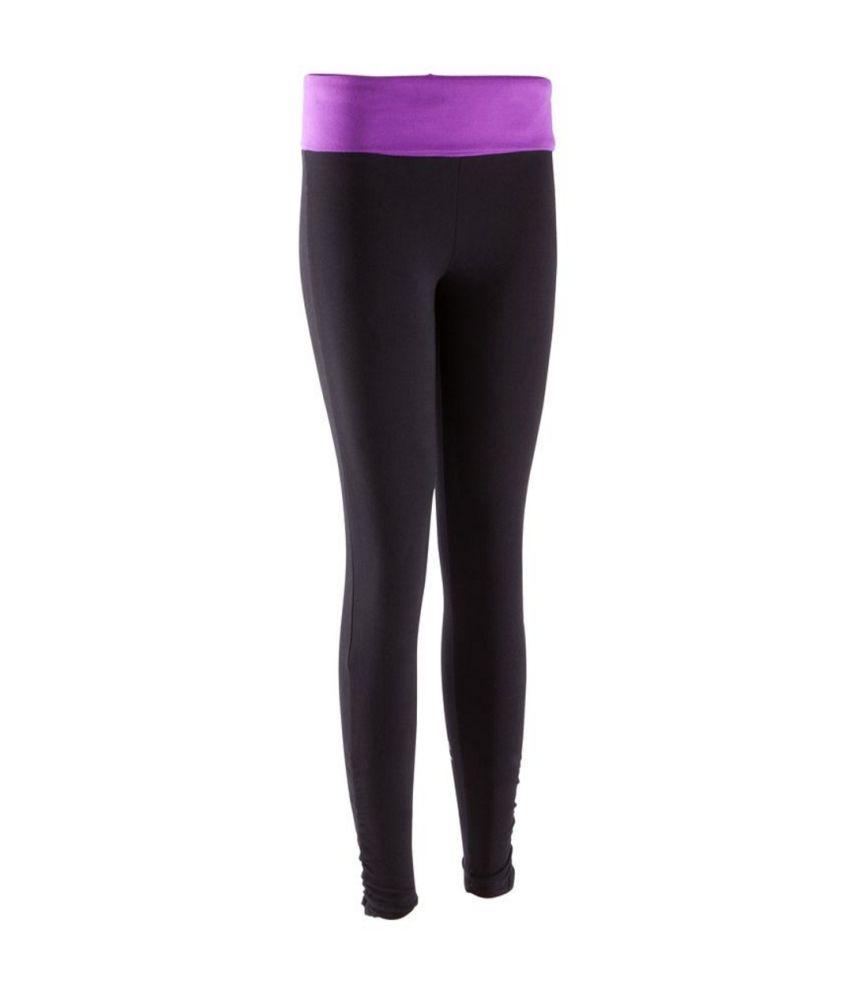 DOMYOS Org Basic Yoga Women's Yoga Leggings By Decathlon