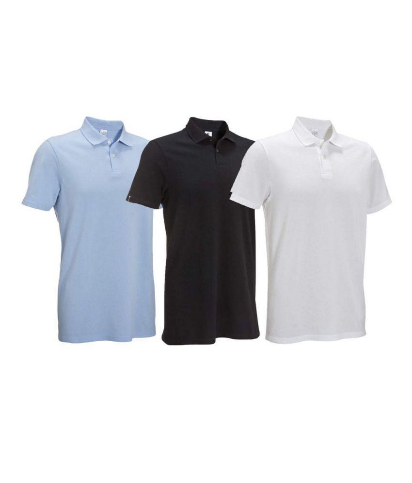 Inesis Multicolour Men's Polo T Shirt By Decathlon