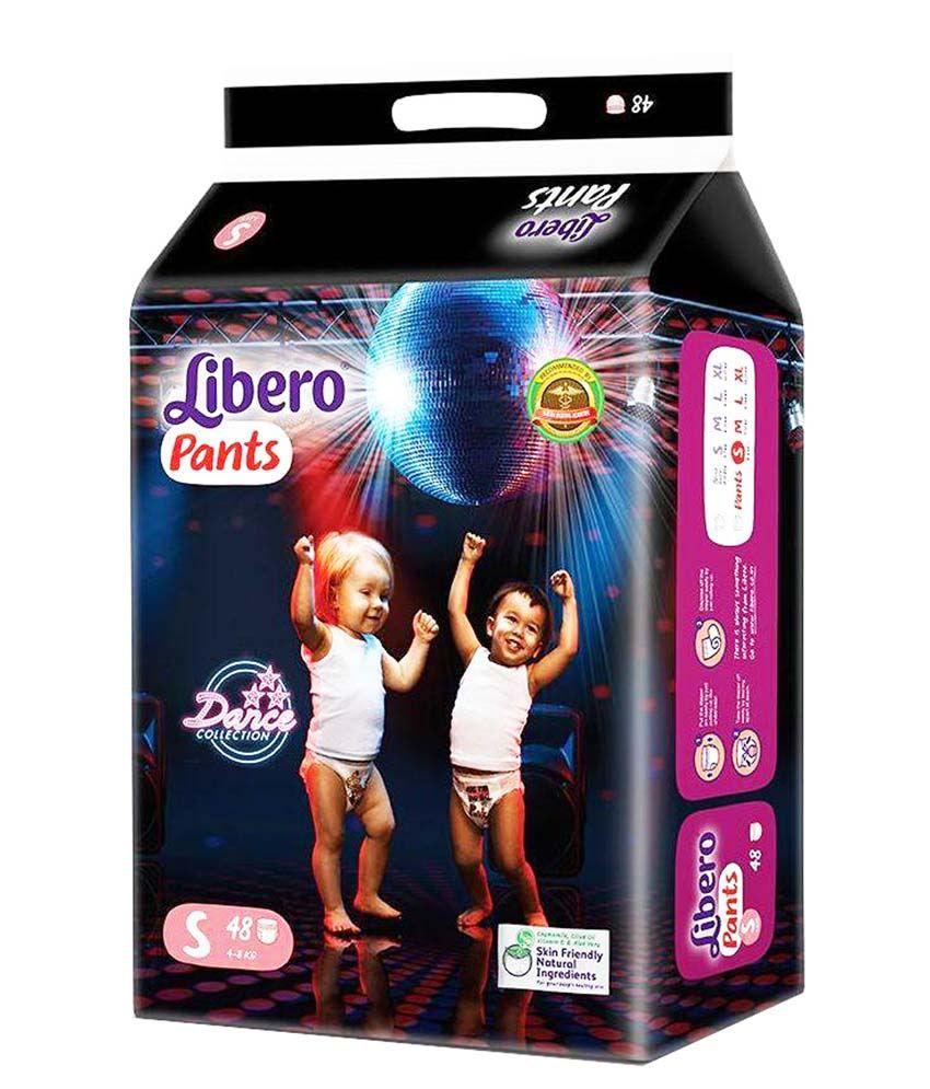 Libero Small Pant Style Diaper - 48 Pcs