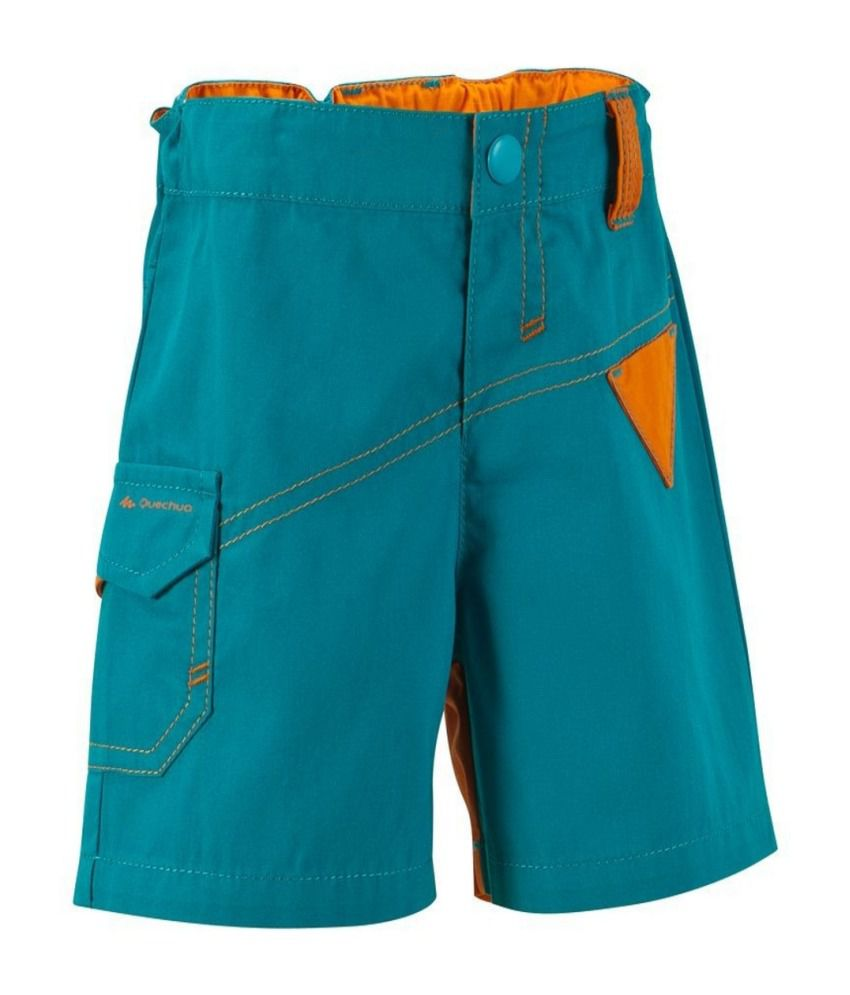 QUECHUA Arpenaz 100 Kids Hiking Shorts By Decathlon