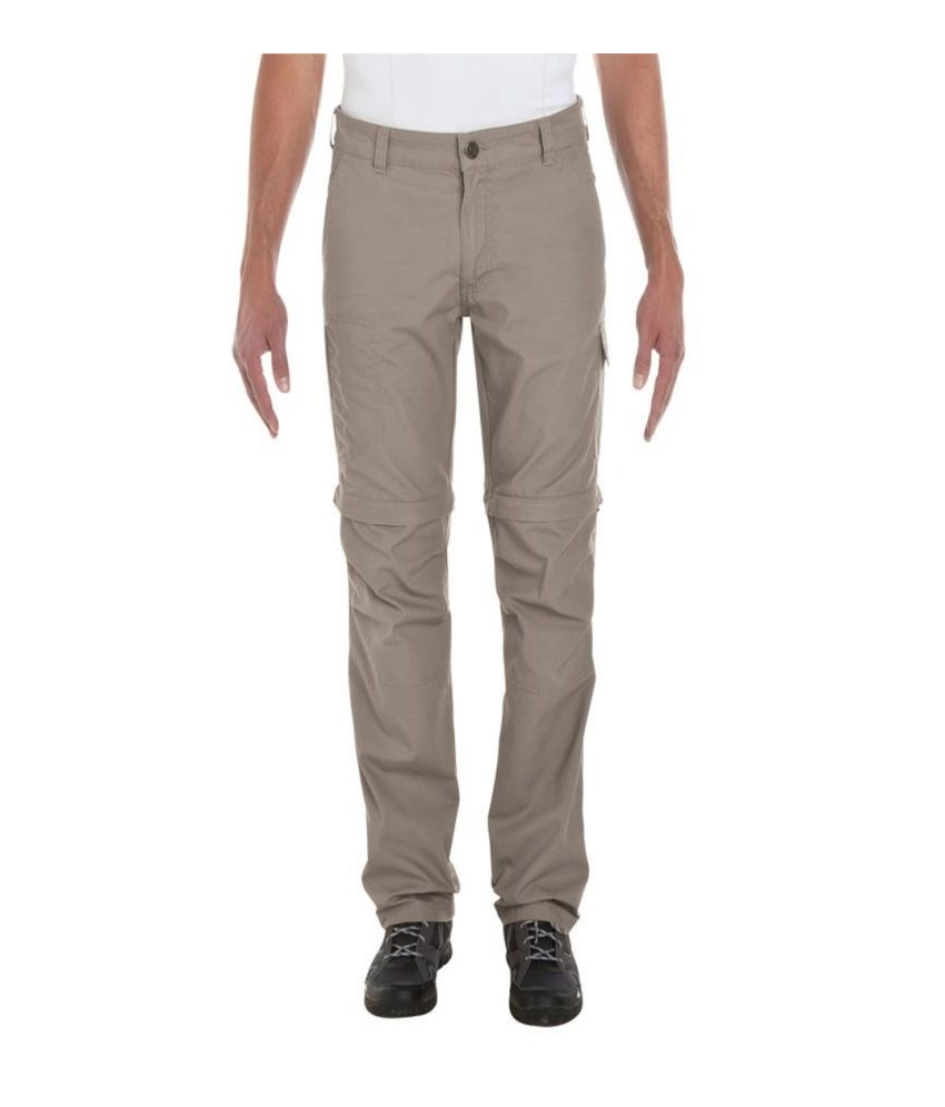 QUECHUA Arpenaz 100 Men's Hiking Trousers By Decathlon
