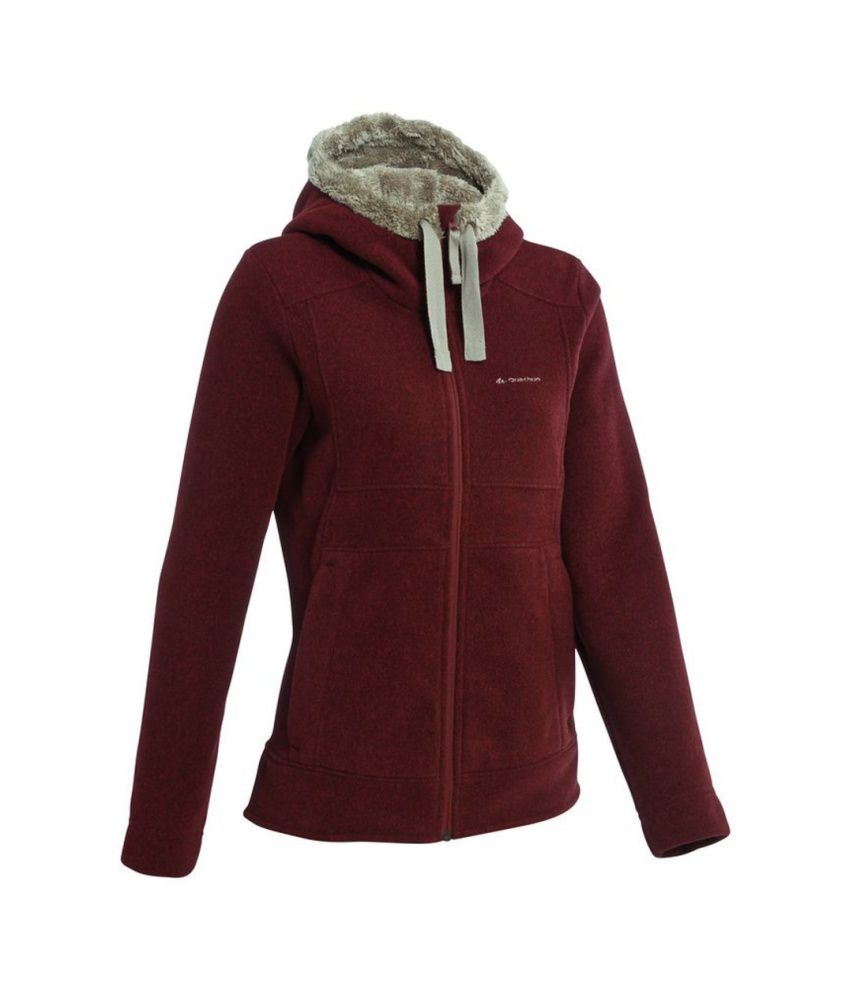 QUECHUA Arpenaz 400 Womens Hooded Pullover By Decathlon