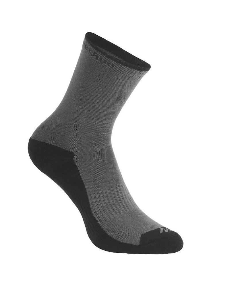 QUECHUA Arpenaz 50 High Adult Hiking Socks By Decathlon
