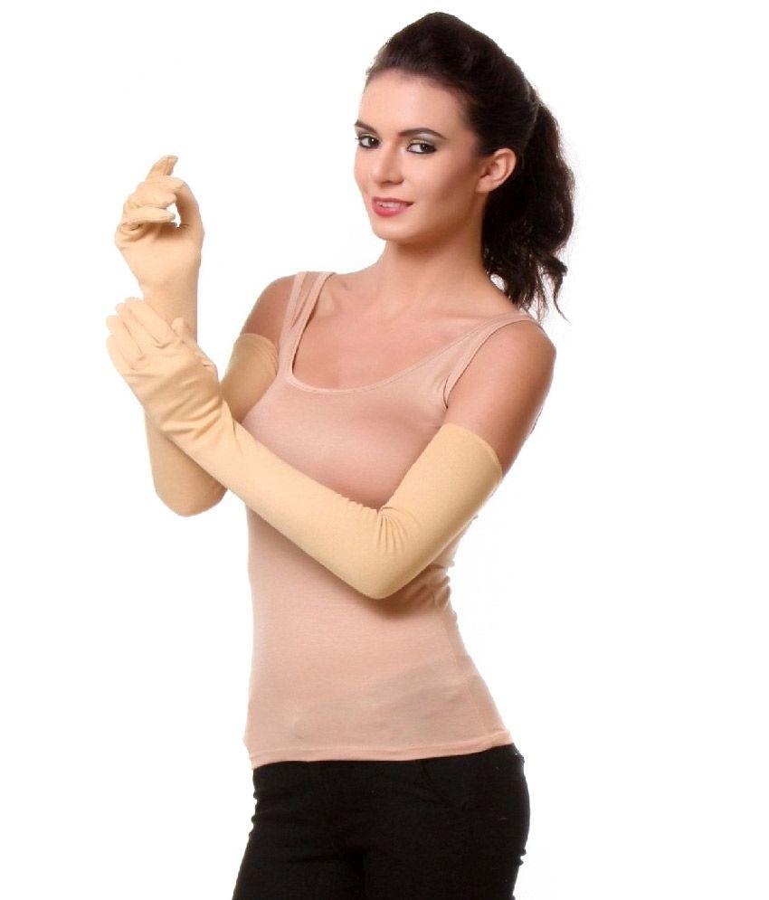 Oshop Trades Full Hand Skin Gloves for Women - Set of 1