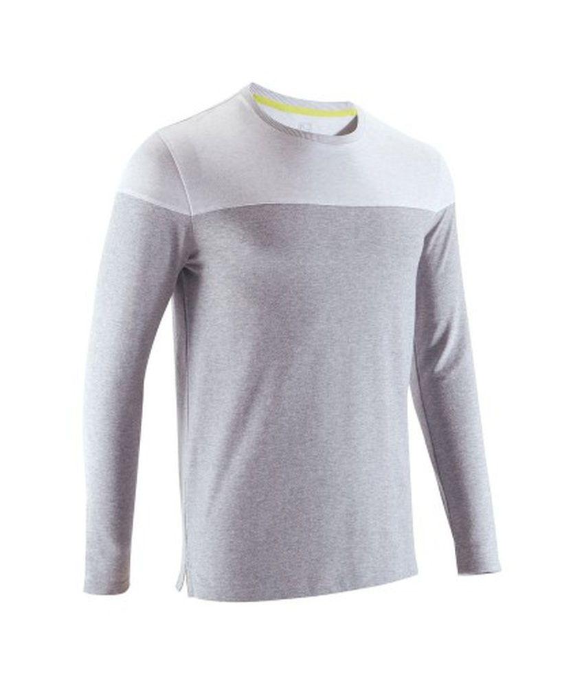 DOMYOS Men's Fitness Long-Sleeved T-Shirt By Decathlon