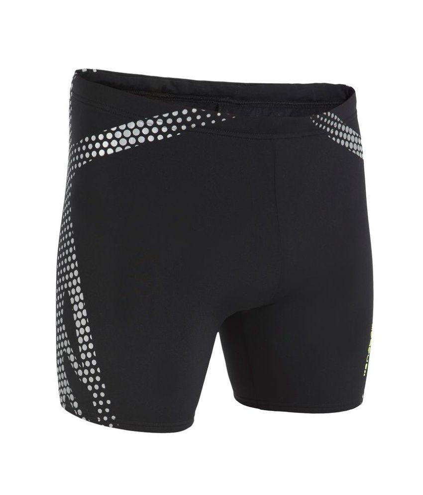 NABAIJI B Ready Long Boxer Tribel Print Men's Swimwear By Decathlon/ Swimming Costume