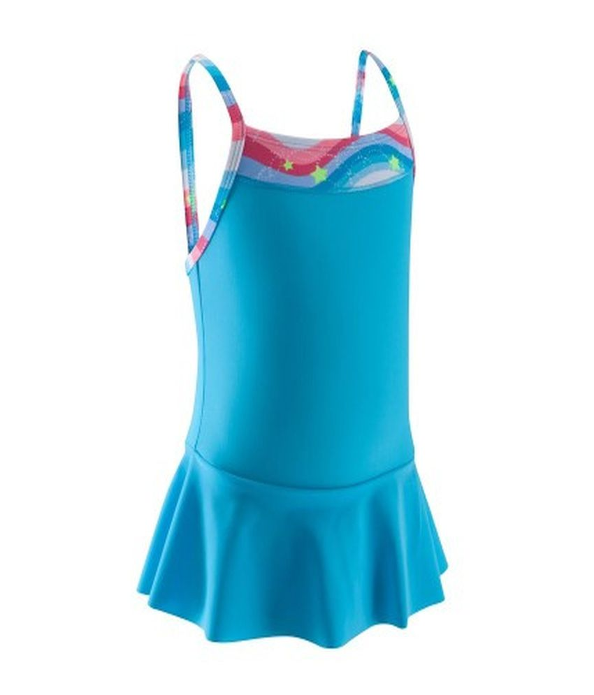 NABAIJI Mad Dress All Bow Girls Swimwear By Decathlon/ Swimming Costume
