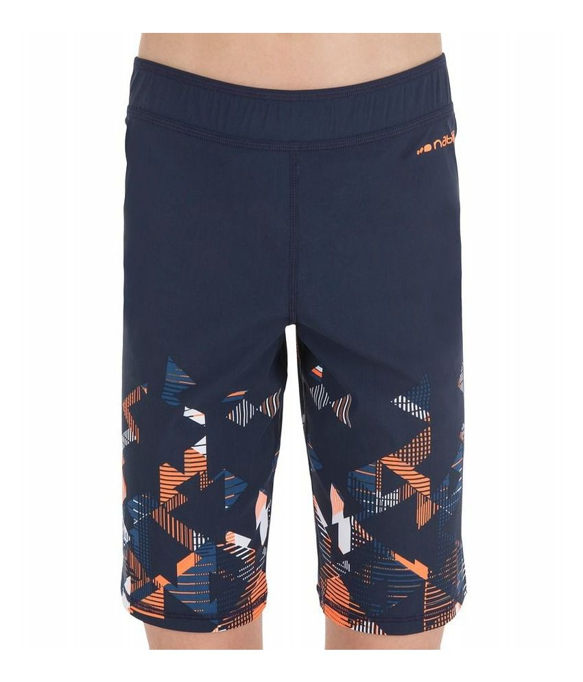 NABAIJI Short B Free Long Strip Boys Swimwear By Decathlon