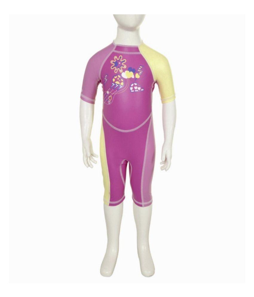 NABAIJI Shorty Kloupi Tulip Kids Swimwear By Decathlon/ Swimming Costume