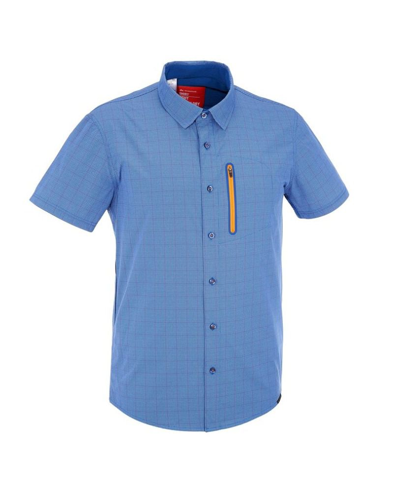 QUECHUA Arpenaz 500 Air Men's Hiking Shirt By Decathlon