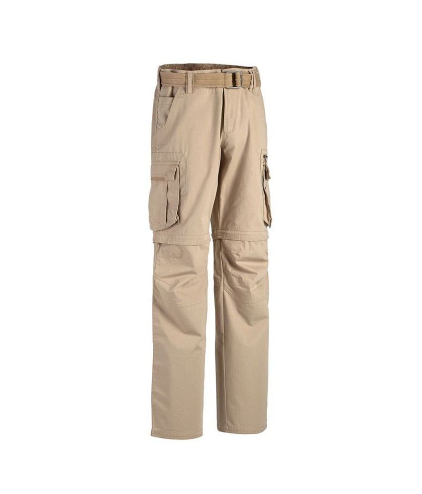 QUECHUA Arpenaz 500 Men's Convertible Hiking Trousers By Decathlon