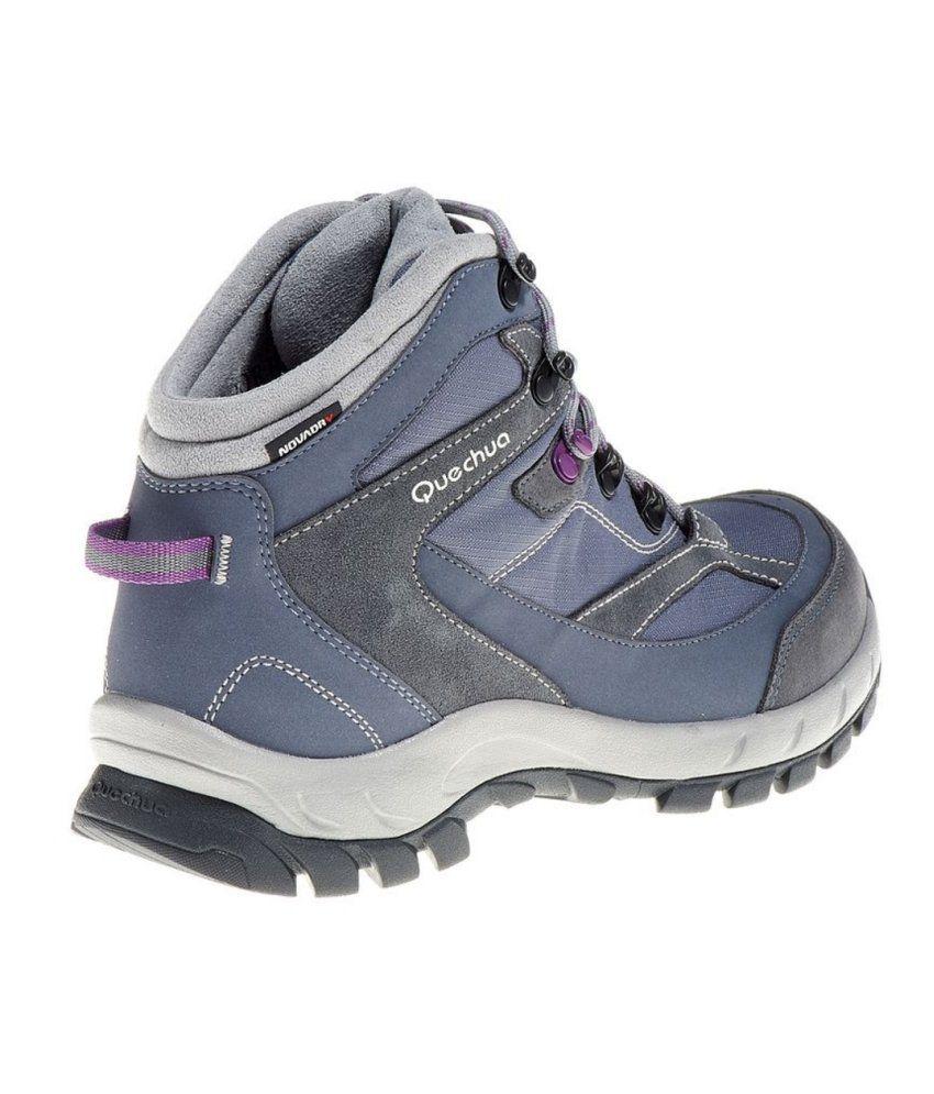 da8b0836fec QUECHUA Forclaz 100 High Women's Waterproof Hiking Boots By Decathlon