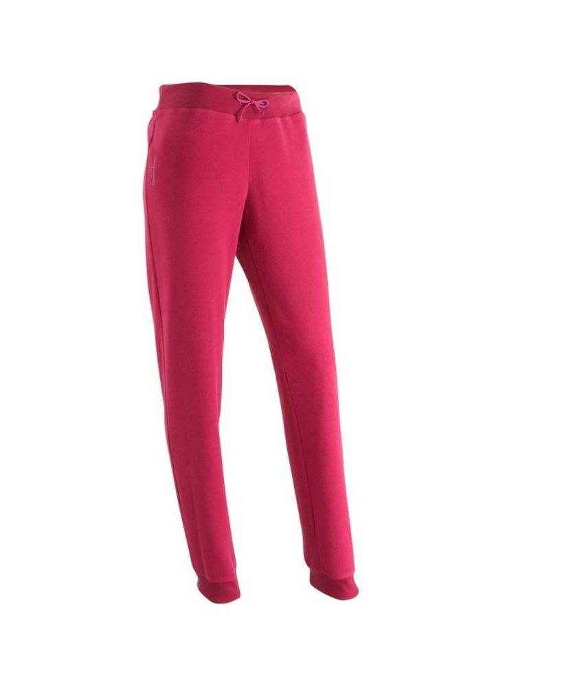 QUECHUA Forclaz 50 Women's Hiking Fleece Trousers By Decathlon