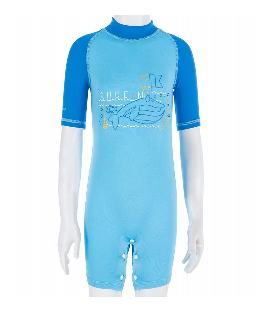 TRIBORD UV Shorty Whale Kids Surfwear By Decathlon