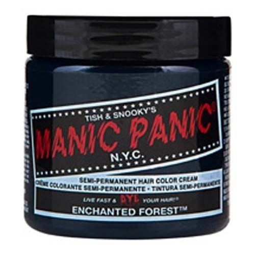 Tish & Snooky's Manic Panic NYC Imported Manic Panic Semi Permanent Hair Dye Enchanted Forest Green