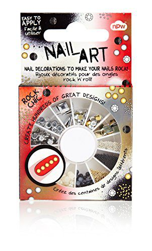 NPW Imported NPW Nail Art Rock Chic Stud Wheel Decoration Hand Care