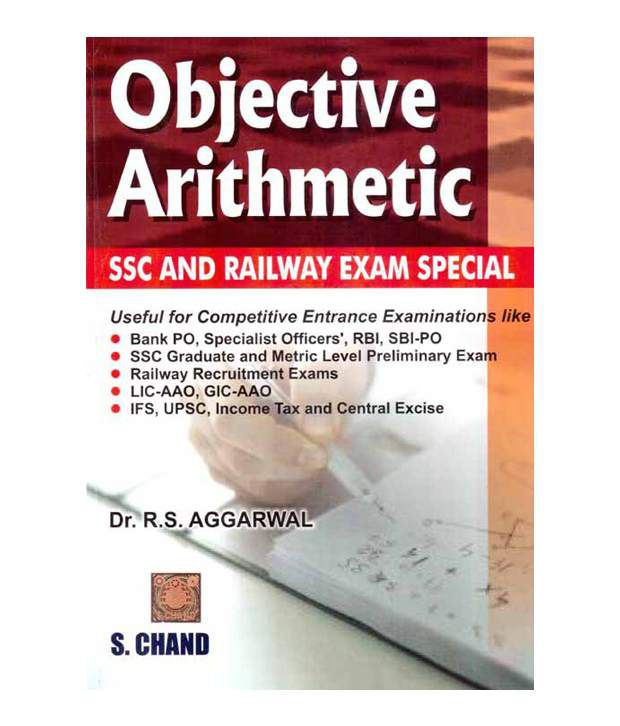 Objective Arithmetic SSC and Railway Exam Special Paperback