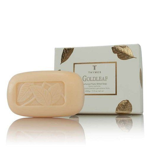 Thymes Imported Thymes Goldleaf Bar Soap Natural Body Hand