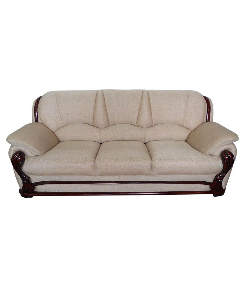 vintage ivoria 3 seater sofa   buy vintage ivoria 3 seater