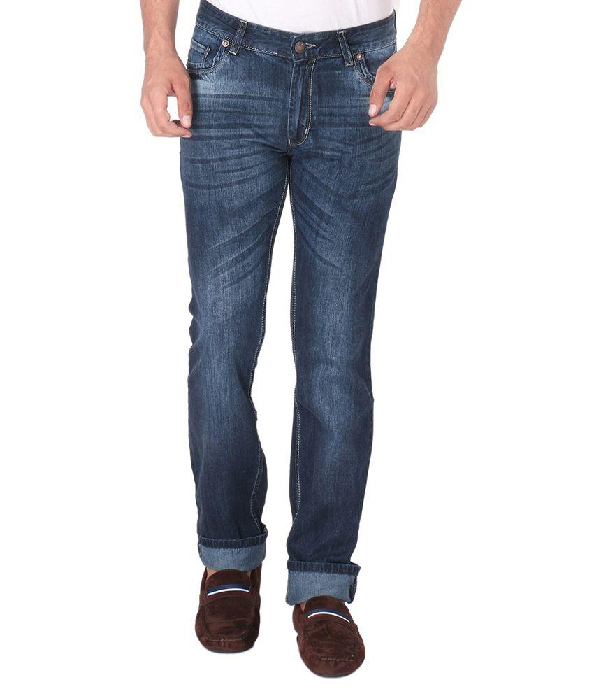 Donear NXG Blue Regular Fit Jeans