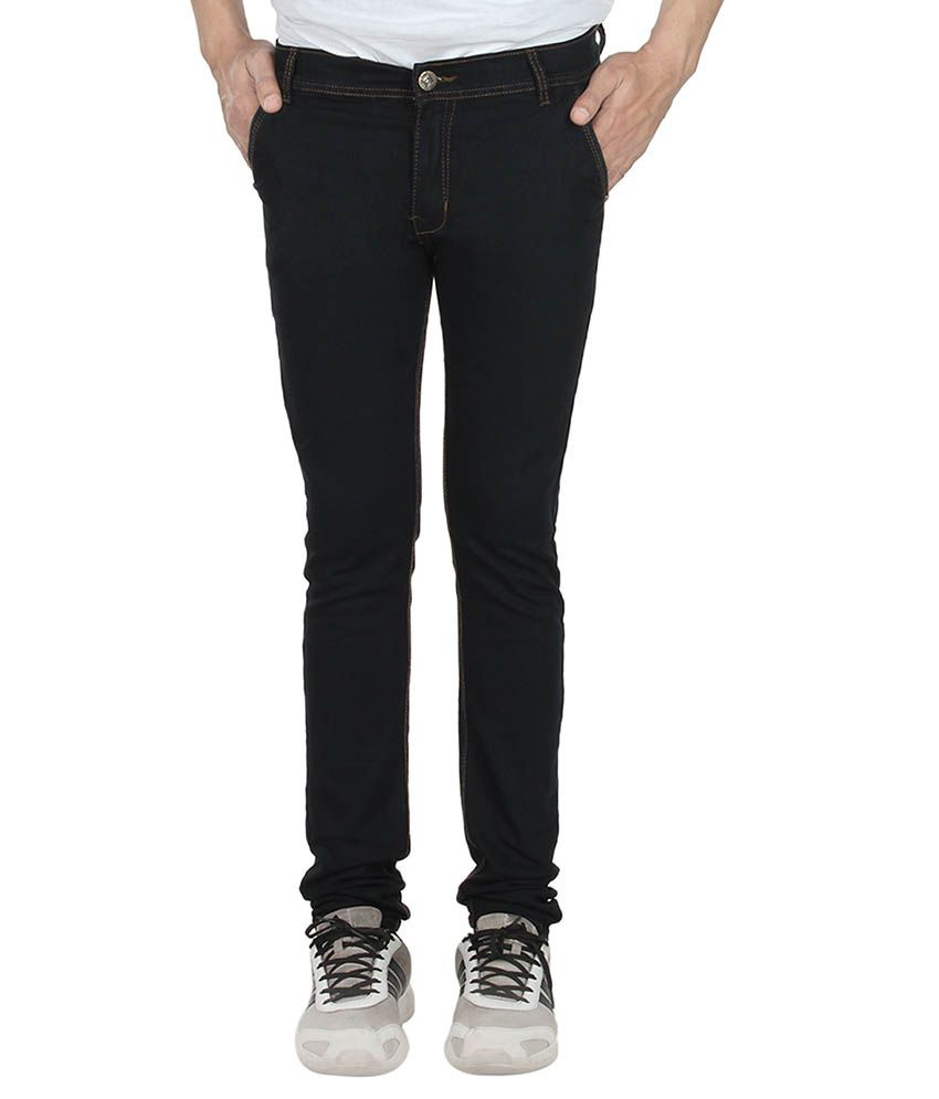 Indiana Black Regular Fit Jeans