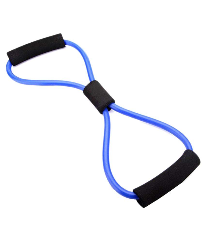 2222a340d Mor Sporting Grey Exercise 8 Shape Resistance Yoga Fitness Band Toning Tube