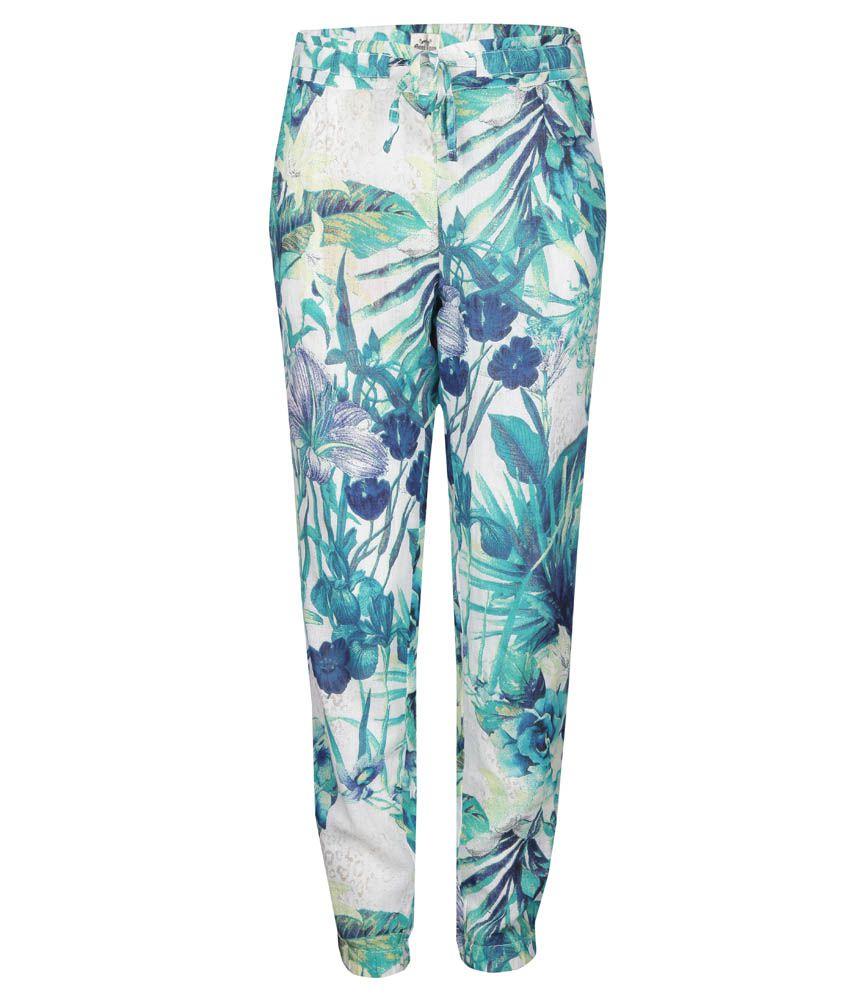 Gini & Jony Blue Regular Fit Pants