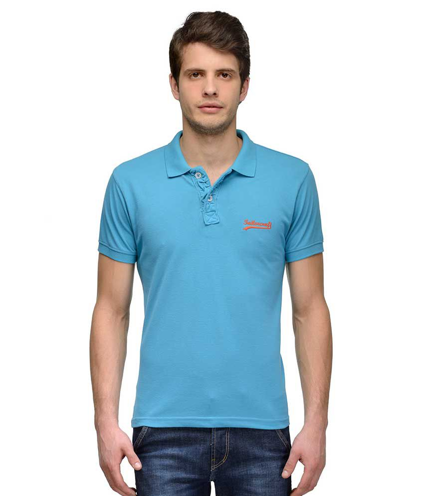 Tailor Craft Turquoise Round T Shirts