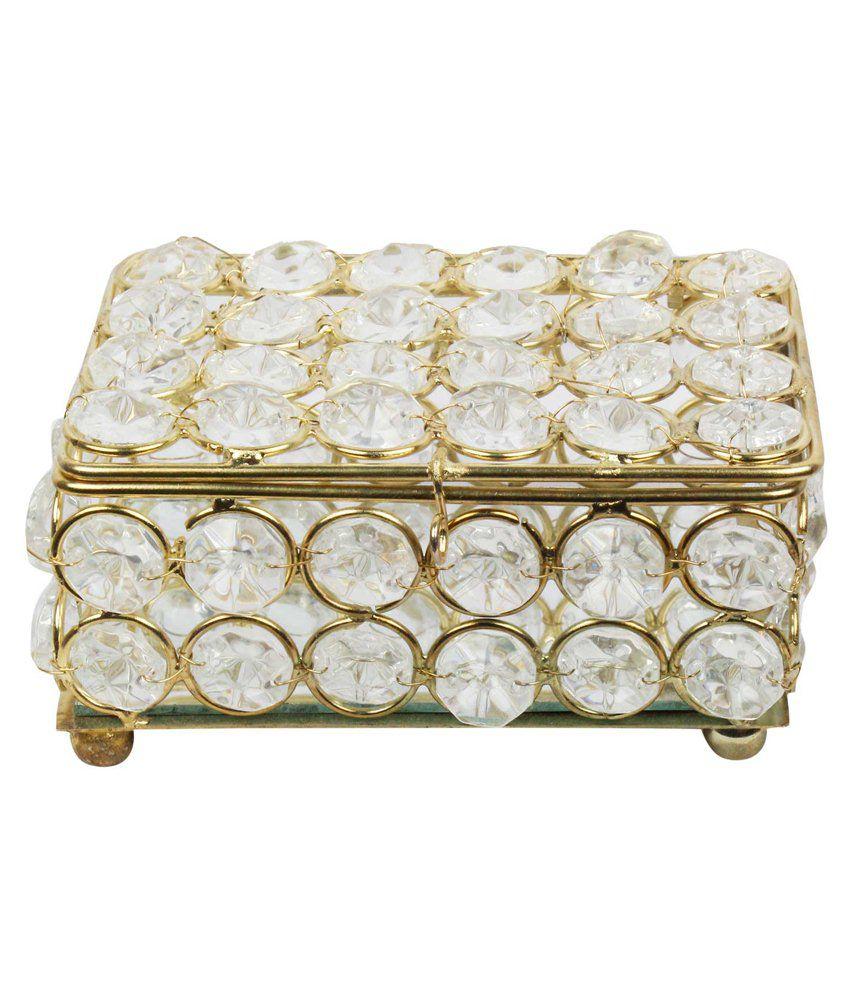 Jaipur Raga Crystal Jewellery Box