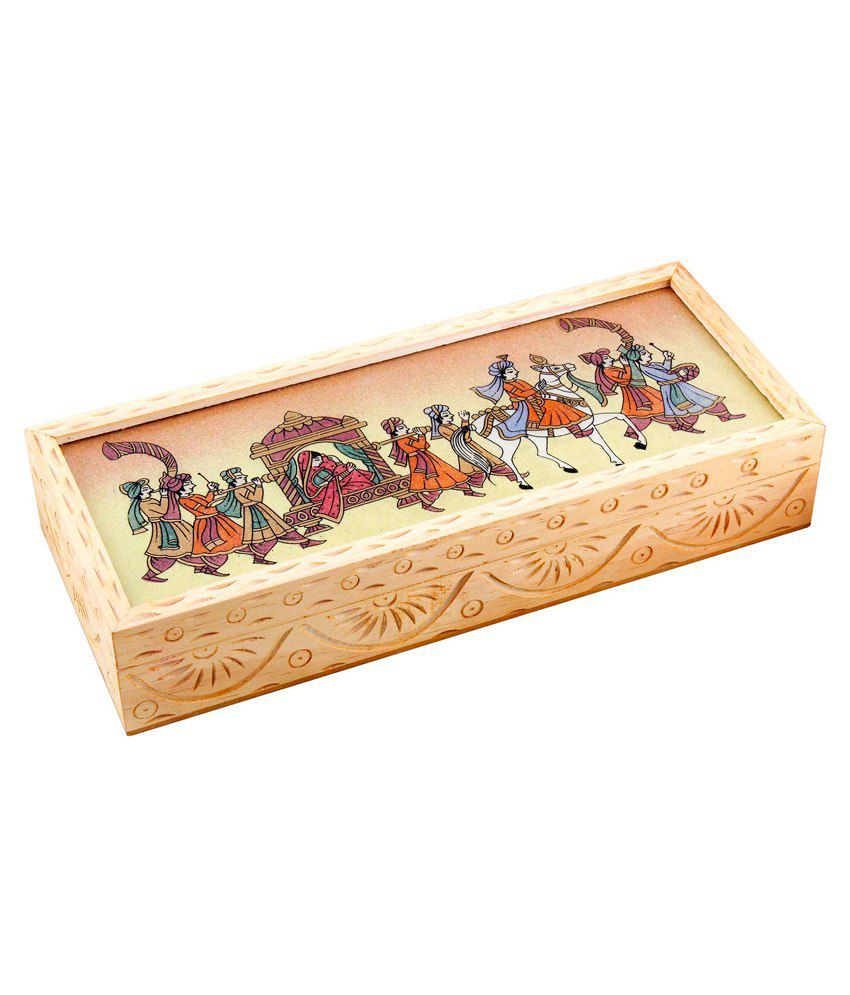 Jaipur Raga Wooden Jewellery Box