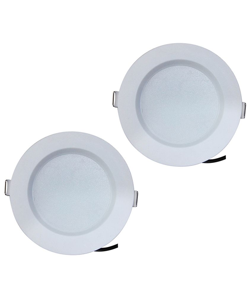 Bene Green 7w Round Ceiling Light (Pack of 2)