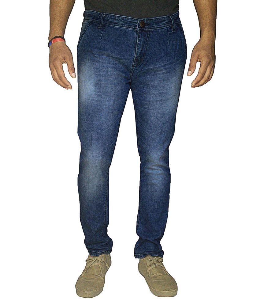 Damler Blue Slim Fit Jeans