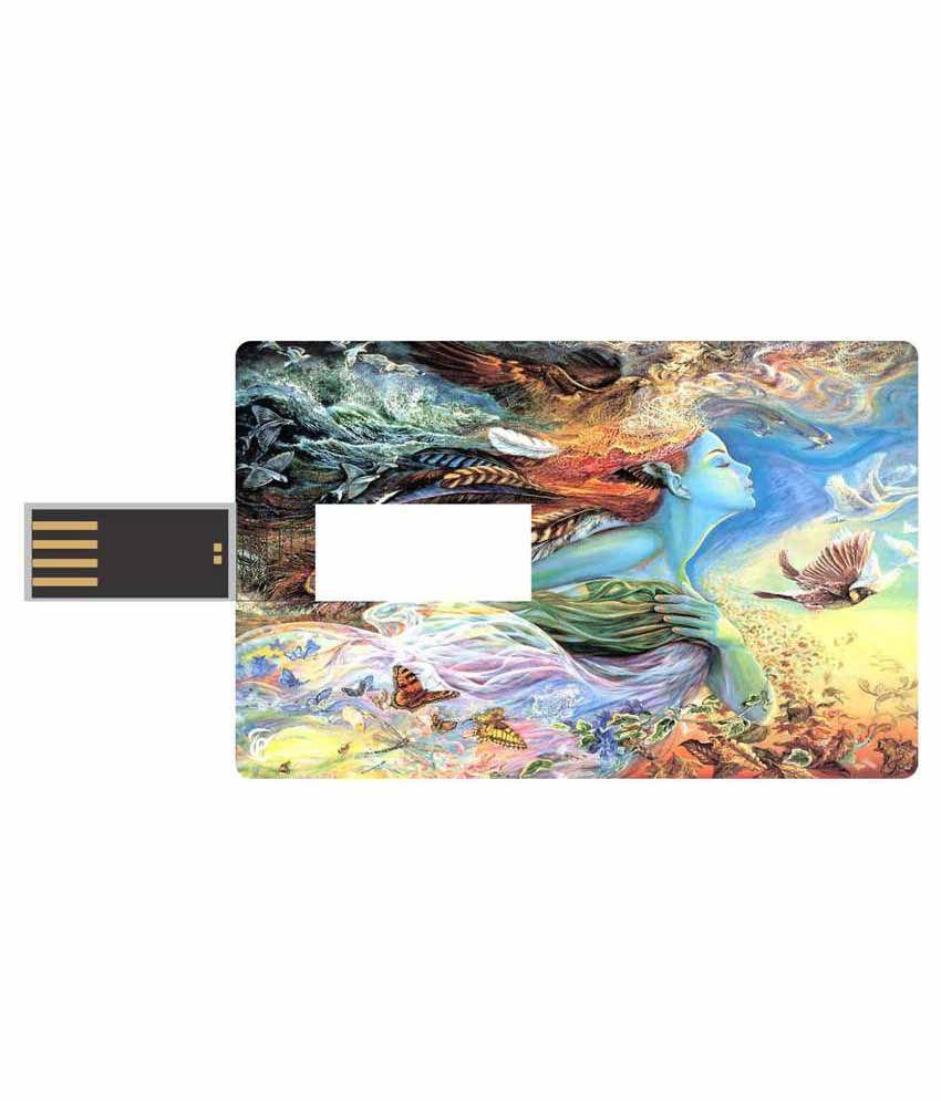 Print Shapes 8 GB Pen Drives Multicolour