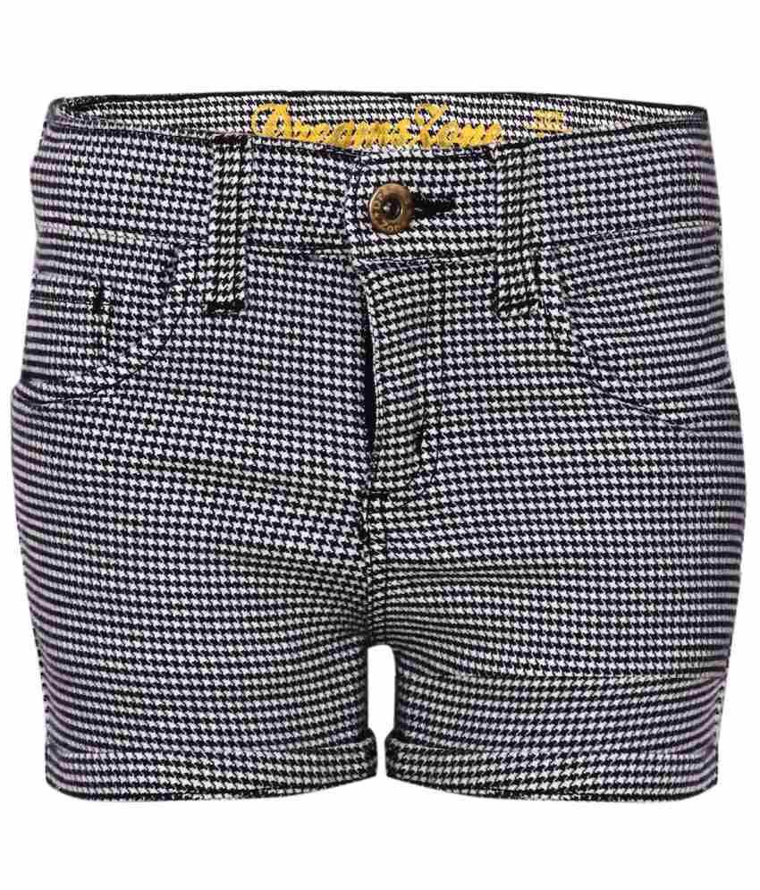 Dreamszone Black Cotton Blend Shorts
